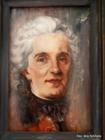 Nezināma autora glezna salas vienīgajā mājā - Saksijas grāfa Morica portrets