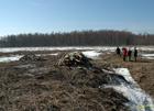 Atjaunotā palieņu pļava Rūjas labajā krastā